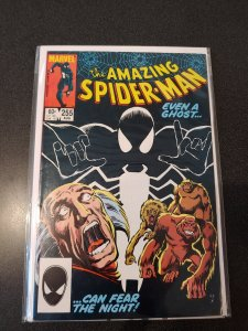 ​Amazing Spider-Man #255-1984  1st Black Fox / Red Ghost   VF/NM HIGH GRADE