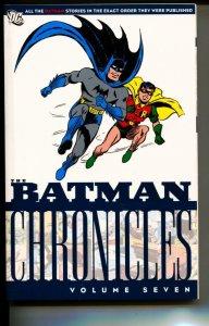 Batman Chronicles Volume 7 TPB trade