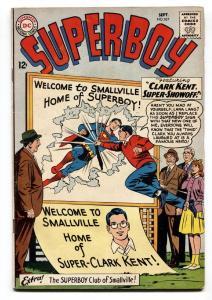 SUPERBOY #107-1963-smallville-DC SILVER AGE-vg+