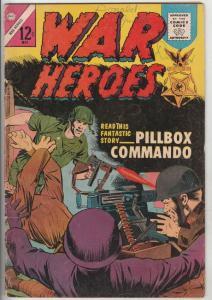 War Heroes #8 (May-64) VG Affordable-Grade Marines