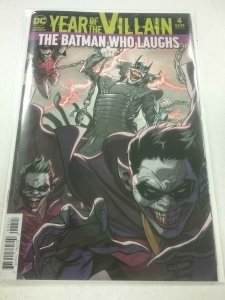 Year Of The Villian 4 The Batman Who Laughs Acetate Cover NW79