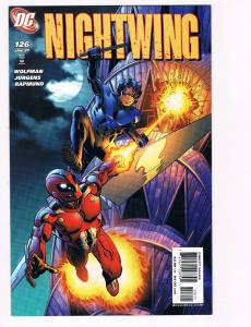 Nightwing # 126 DC Comic Books Hi-Res Scans Modern Age Awesome Issue WOW!!!!! S3
