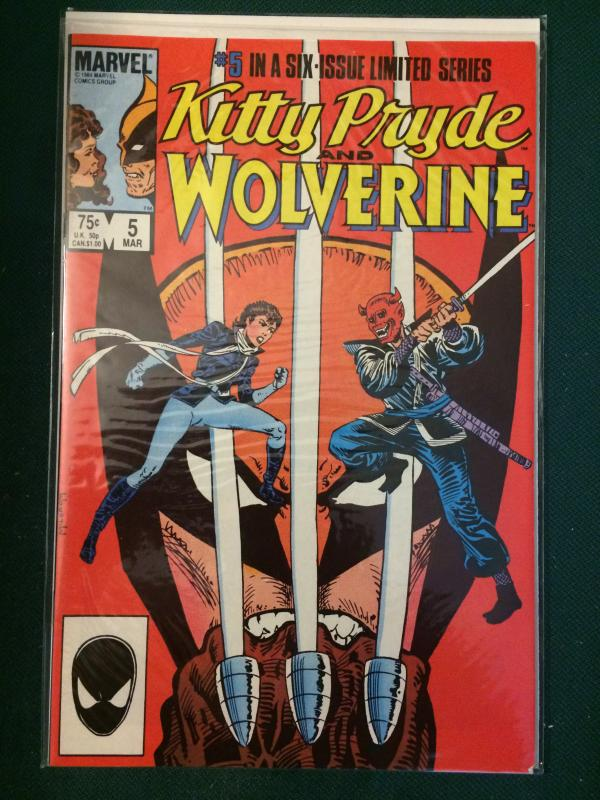 Kitty Pryde and Wolverine #5 of 6