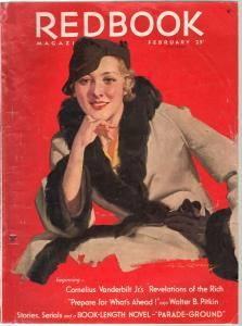 Redbook  2/1934-pulp fiction-Cornelius Vanderbilt Jr.-pulp fiction-Ogden Nash-FR