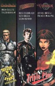 Top Cow Triple Play #1A VF/NM; Image | save on shipping - details inside