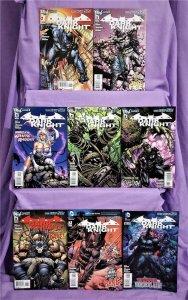 DC New 52 BATMAN THE DARK KNIGHT #1 - 8 Paul Jenkins David Finch (DC, 2011)!
