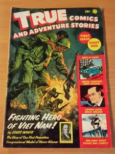 True Comics and Adventure Stories #1 ~ FINE - VERY FINE VF ~ 1965 COMICS