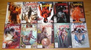I, Vampire #0 & 1-19 VF/NM complete series - dc comics new 52 - joshua fialkov
