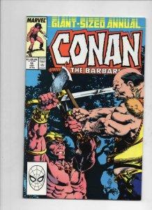CONAN the BARBARIAN #12 Annual, VF/NM, Robert Howard, Legion of Dead, 1987