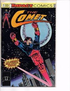 DC Comics Impact Comics The Comet #1 1st App. in DC Universe