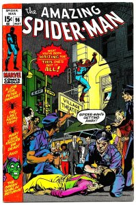 AMAZING SPIDER-MAN #96 (May1971) 8.5 VF+ GREEN GOBLIN! Gil Kane!! John Romita!!
