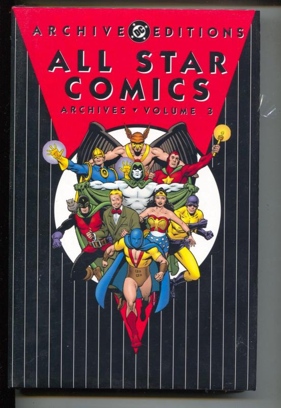 All Star Comics Archives-Vol 3-#11-14-Color-Hardcover