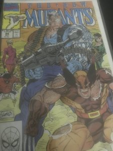 Marvel The New Mutants #94 Mint Feat Wolverine