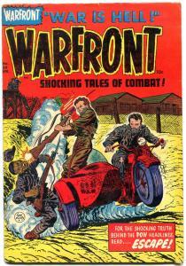 WARFRONT #20 MOTORCYCLE BOB POWELL VIOLENT 1954 KOREA VG