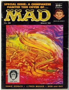 MAD 38 GOOD Mar.-April 1958 Fred G. Muggs!