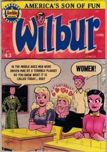 Wilbur 43 GD+ (Archie June 1952)