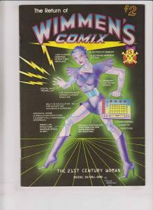 Wimmen's Comix #8 VF/NM (1st) sharon rudahl TRINA ROBBINS carol lay LEE MARRS