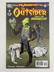 THE OUTSIDER FLASHPOINT  3  NM  9.4  HIGH GRADE  2011 NM