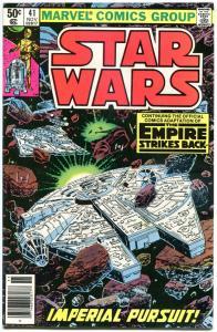 STAR WARS #41, VF+, Luke Skywalker, Darth Vader, 1977, more SW in store (R)