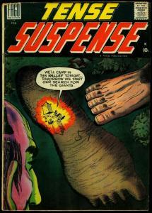 Tense Suspense #2 1959- Dick Ayers- Silver Age Horror VG