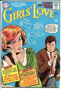 GIRLS' LOVE STORIES #114-DC ROMANCE-GREAT COVER G