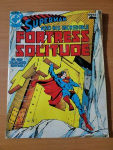 Superman and his Incredible Fortress of Solitude ~ VERY GOOD VG ~ 1981 Treasury