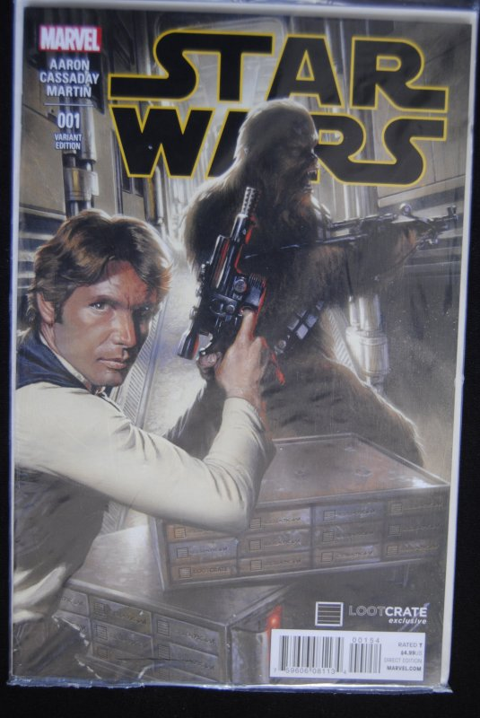 Star Wars #1 Variant Edition Lootcrate exclusive