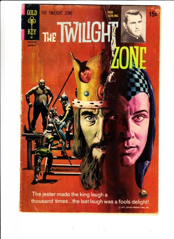 Twilight Zone, The #41 (Jan-72) GD- Affordable-Grade Rod Serling