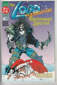 Lobo Paramilitary Christmas Special #1 (Jan-91) NM- High-Grade Lobo
