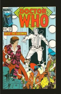 Marvel Comics Doctor Who Vol 1 No 13 October 1985