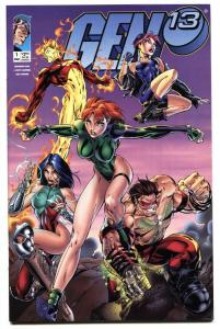 Gen 13 #1 1995 J. Scott Campbell-comic book