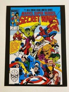 Marvel Super Heroes Secret Wars #1 Marvel Comics poster by Mike Zeck