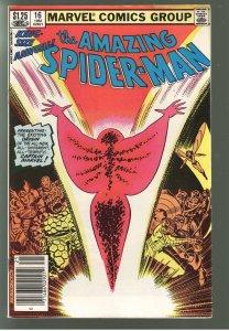 AMAZING SPIDERMAN ANNUAL 16 1st monica Rambeau Cap Marvel