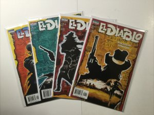 El Diablo 1-4 1 2 3 4 Mini Series Lot Run Set Near Mint Nm Vertigo DC Comics