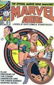 Marvel Age #26, NM- (Stock photo)