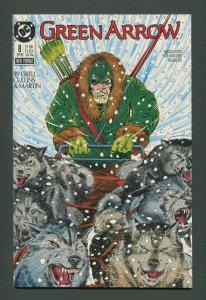 Green Arrow #8  /  9.4 NM  /  September 1988