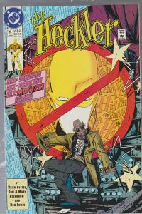 THE HECKLER #5 - BAGGED AND BOARDED - DC COMIC 1992