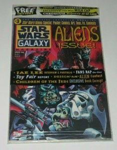 Star Wars Galaxy Magazine #3 Aliens Children of Jedi Jabba the Hut VF/NM Sealed!