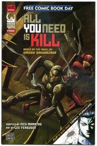 ALL YOU NEED IS KILL #1, FCBD, NM, Terra Formers, Viz, Sakurrazaka, 2014, unread