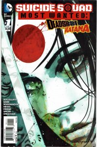 Suicide Squad Most Wanted: Deadshot & Katana #1 Katana Cover Variant VF