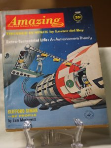 Amazing Stories Fact and Science Fiction June 1962. volume 36 #6