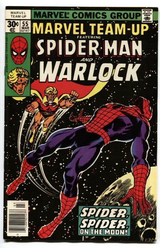 Marvel Team-up #55 Warlock-Spider-Man comic book VF/NM
