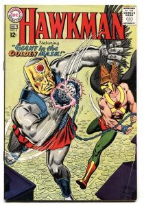HAWKMAN #8 1965-GOLDEN MASK-DC COMICS-SILVER AGE FN+
