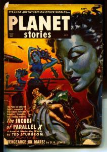 Planet Stories-Pulps-9/1951-Theordore Sturgeon-Poul Anderson