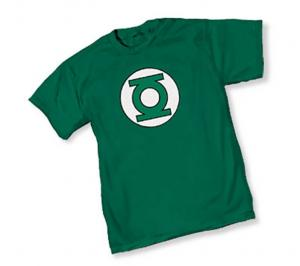 GREEN LANTERN SYMBOL I T-SHIRT SMALL  GRAPHITTI DESIGNS NEW
