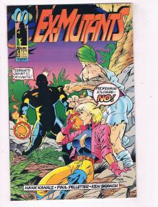 Ex Mutants #5 VF Malibu Comics Comic Book Mason Mar 1993 DE41 AD18