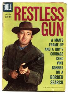 Four Color Comics #986 1958- Restless Gun TV Photo cover Dell VG