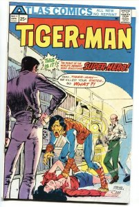 Tiger-Man #1 First issue-1975-comic book-ATLAS FN/VF