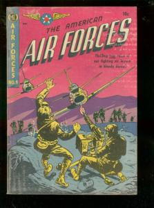 AMERICAN AIR FORCES #9 1952-JET POWERS-VIOLENT KOREA -very good VG