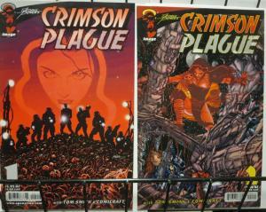 CRIMSON PLAGUE (2000 IMAGE) 1-2  GEORGE PEREZ's!